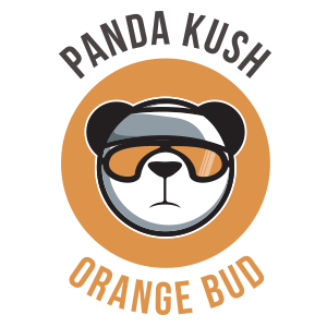 CDB Panda kush orange bud eliquid logo